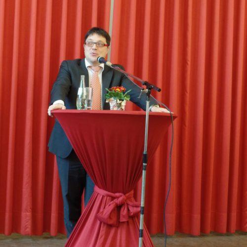 Kreisbeigeordneter und Vorsitzender des SPD-Unterbezirks Carsten Müller