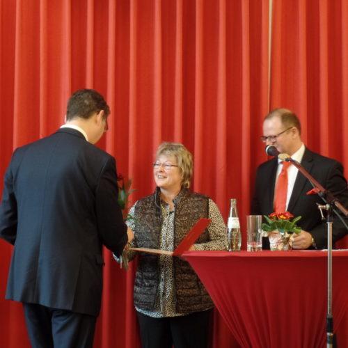 25 Jahre Mitglied in der SPD: Anja Blanke