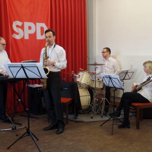 Musikalischer Abschluss mit Musik der TGS Musikcorps