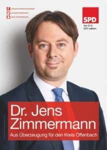 Dr Jens Zimmermann Bundestagabgeordneter Kreis Offenbach
