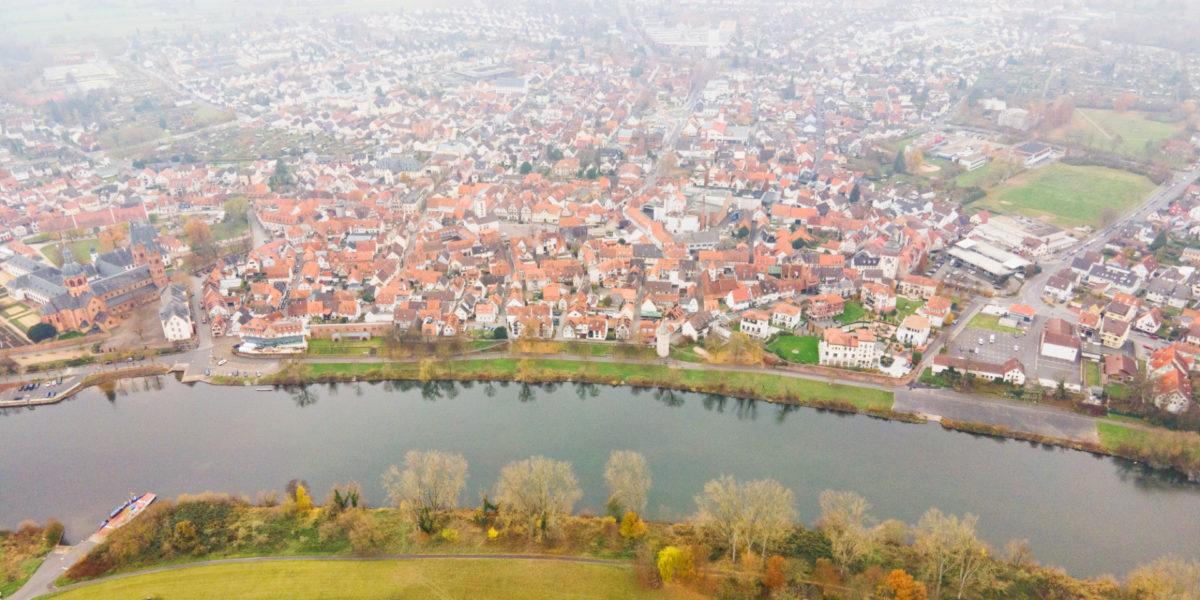 Lebendiges Mainufer Seligenstadt
