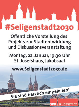 Seligenstadt2030 SPD Stadtentwicklung Zeitung