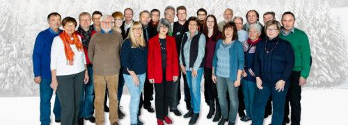 SPD Seligenstadt Kommunalwahl 2016 Gruppenbild